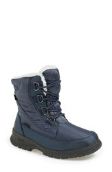 Women's Kamik 'Baltimore' Waterproof Boot Navy