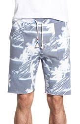 Men's Sol Angeles 'Palm Breeze' Print French Terry Cutoff Shorts