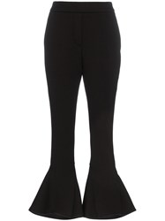 Beaufille Kick Flare Trousers Black