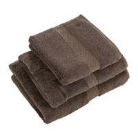Yves Delorme Etoile Taupe Towel Brown
