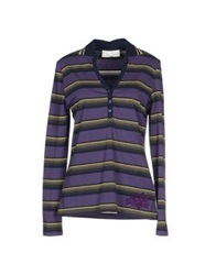 Baci And Abbracci T Shirts Purple