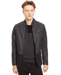 Kenneth Cole Reaction Slim Fit Two Tone Jacket Black