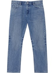 Burberry Straight Leg Distressed Effect Jeans 60