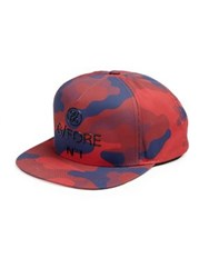 G Fore Berry Camo Flat Brim Hat Bright Red