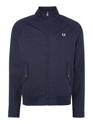 Fred Perry Men's Zip Blouson Jacket Navy