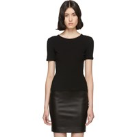 The Row Black Leah T Shirt