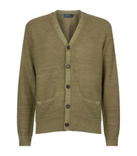 Polo Ralph Lauren Textured V Neck Cardigan Male