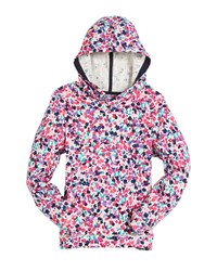 Joules Ditsy Floral Print Hoodie Size 3 10 Multi