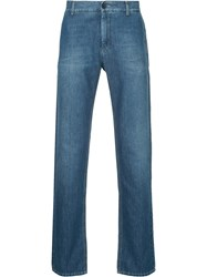 Cerruti 1881 Regular Straight Leg Jeans Blue