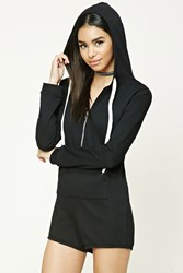 Forever 21 French Terry Hoodie Romper