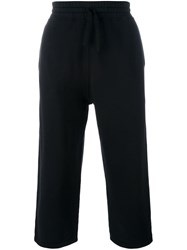 Blood Brother Cropped Track Pants Black