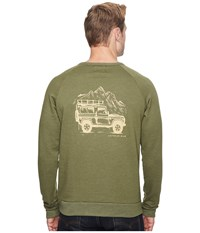 United By Blue Adventure Mobile Pullover Heather Olive Men's Clothing Gray