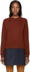 Chloe Maroon Iconic Cashmere Sweater