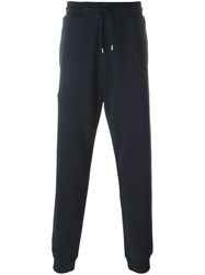 Mcq By Alexander Mcqueen 'Swallow' Track Pants Blue