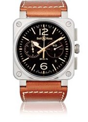 Bell And Ross Br 03 94 Steel Watch Brown