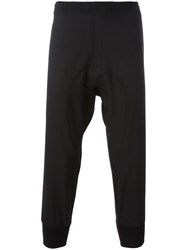 Neil Barrett Piped Track Pants Black