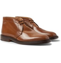 Tricker's Polo Leather Chukka Boots Tan