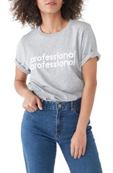 Ban.Do Ban. Do Professional Professional Classic Tee Heather Grey
