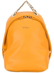 Furla 'Spy' Backpack Yellow And Orange