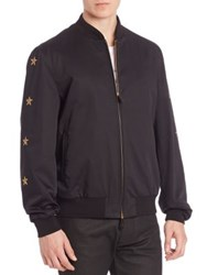 Billionaire Star And Eagle Jacket Black