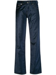 Each X Other Straight Leg Trousers Blue