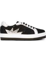 Diesel 'Sandy Star' Sneakers Black