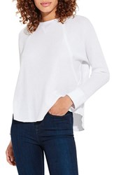 Ayr The Shortie Top White