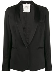 Forte Forte Fitted Single Breasted Blazer Black