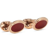 Kingsman Deakin And Francis Rose Gold Plated Cufflinks