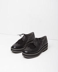 Robert Clergerie Irvinap Platform Oxford Black