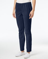 Karen Scott Petite Corduroy Pants Only At Macy's Intrepid Blue