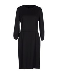 Aquascutum London Aquascutum Knee Length Dresses Black