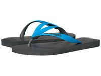 Havaianas Top Mix Flip Flops Grey Turquoise Men's Sandals Multi