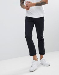 Solid Chino In Black
