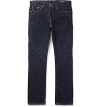The Workers Club Slim Fit Selvedge Denim Jeans Blue
