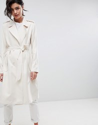 2Nd Day 2Ndday Slouchy Trench Coat Cream