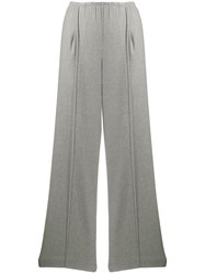 Vince Wide Leg Trousers Grey