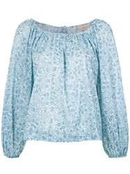 Sissa Geneveve Blouse Cotton Blue