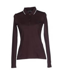 Fred Perry Polo Shirts Dark Brown