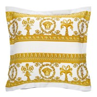 Versace Barocco And Robe Pillowcase White Gold