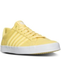 K Swiss Women's Belmont So T Sherbert Casual Sneakers From Finish Line Lemon White
