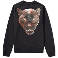 Marcelo Burlon Rufo Crew Sweat Black