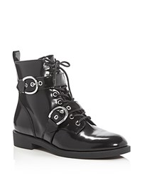 Marc Jacobs Taylor Double Buckle Booties Black