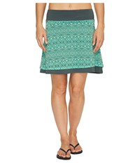 Marmot Samantha Skirt Dark Zinc Sage Women's Skirt Green