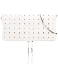 Thomas Wylde Rodeo Shoulder Bag Women Leather One Size White