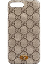 Gucci Ophidia Iphone 8 Plus Case Brown