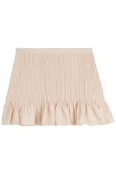 Vanessa Bruno Athe Pleated Miniskirt Rose