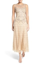 Pisarro Nights Women's Embellished Mesh Gown