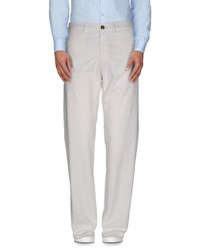 40Weft Trousers Casual Trousers Men White