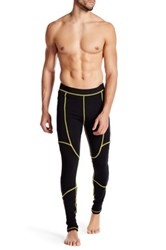 Revo Base Layer Wool Pull On Pant Yellow